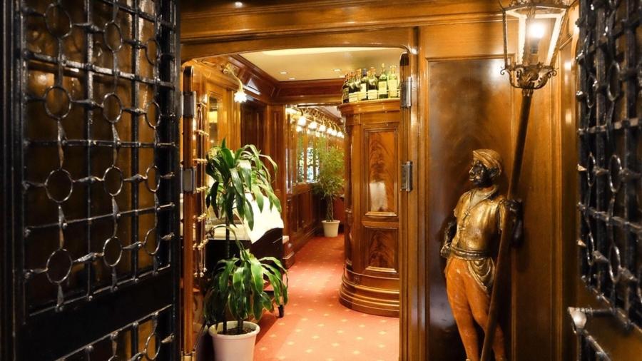 Entrata ristorante Do Forni