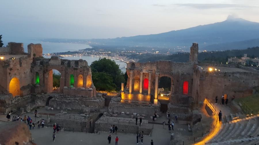 Taormina - Teatro greco 2